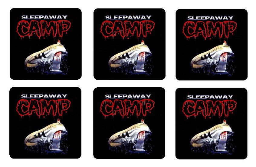 SLEEPAWAY CAMP BEVERAGE COASTERS