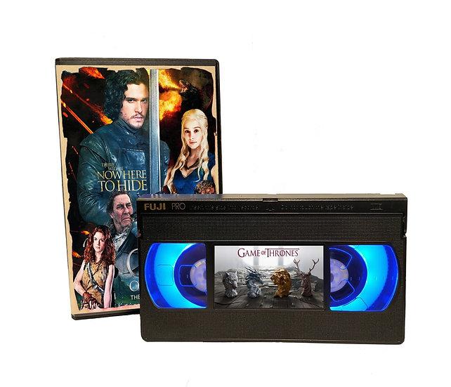 GAME OF THRONES VHS MOVIE NIGHT LIGHT