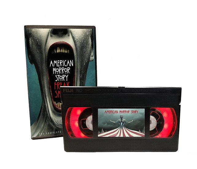 AMERICAN HORROR STORY FREAK SHOW VHS MOVIE NIGHT LIGHT