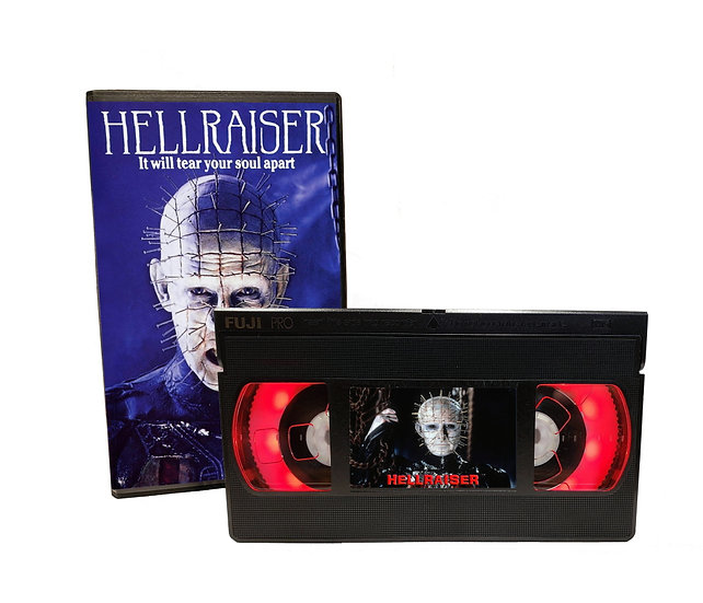 HELLRAISER VHS MOVIE NIGHT LIGHT