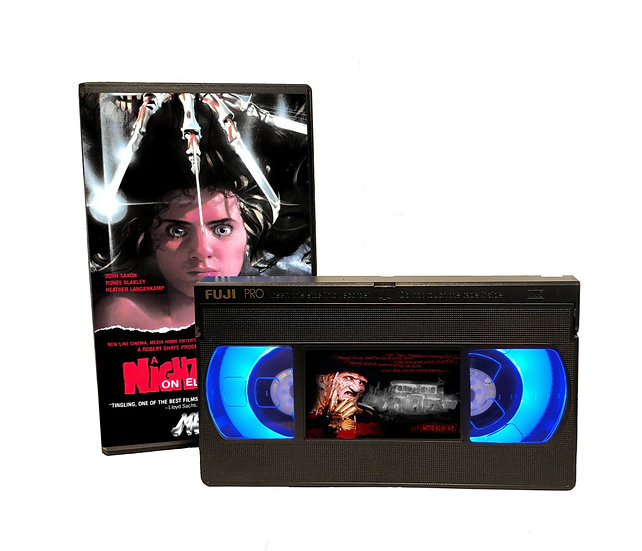 A NIGHTMARE ON ELM STREET VHS MOVIE NIGHT LIGHT
