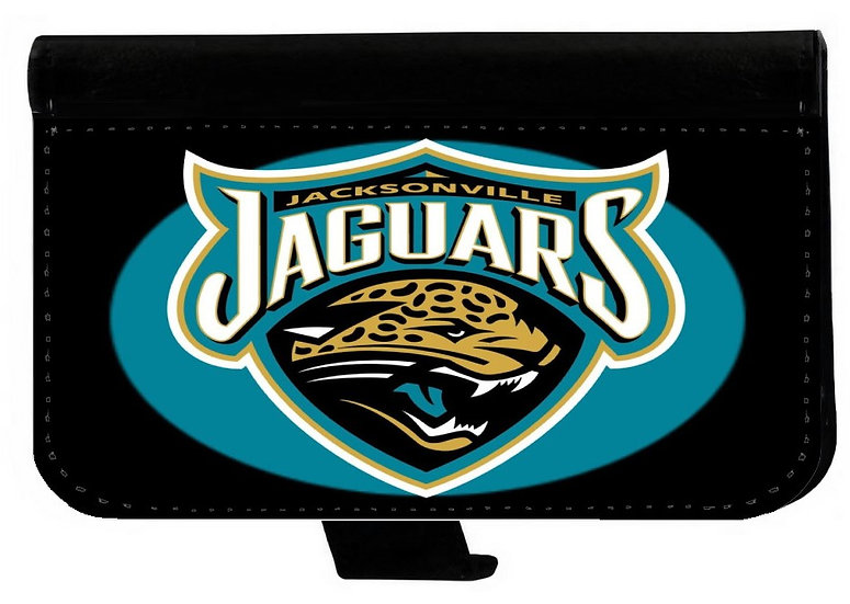 JACKSONVILLE JAGUARS IPHONE OR GALAXY CELL PHONE CASE WALLET