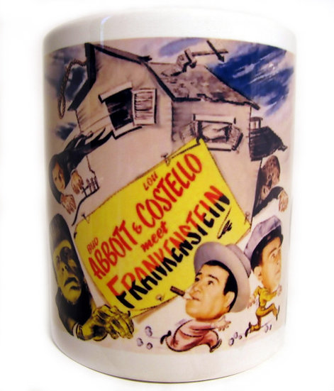 ABBOTT & COSTELLO MEET FRANKENSTEIN - CERAMIC MUG