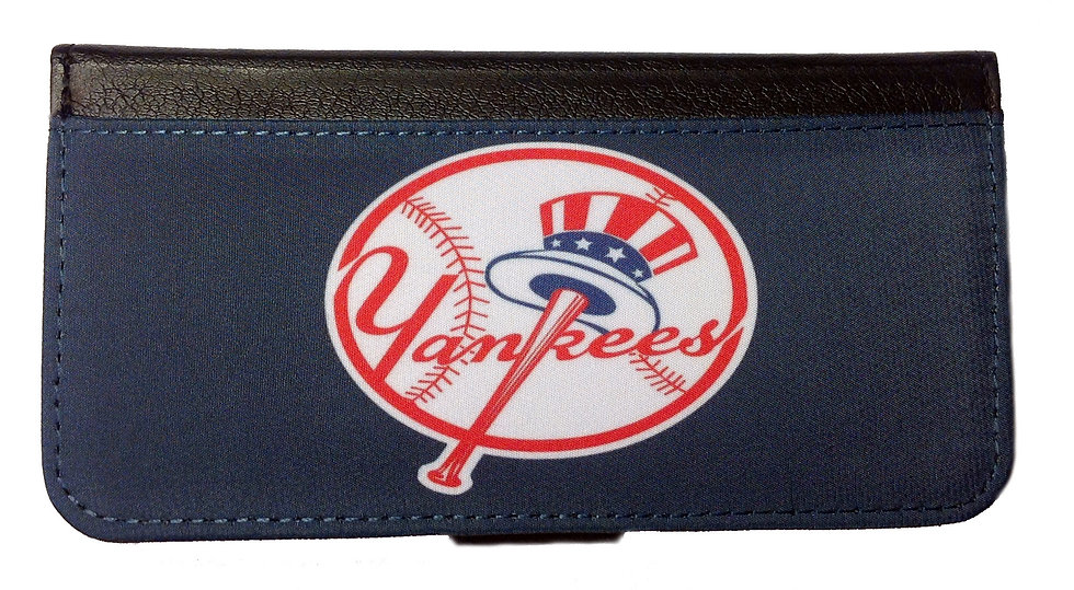 NEW YORK YANKEES (bl) - LEATHER WALLET