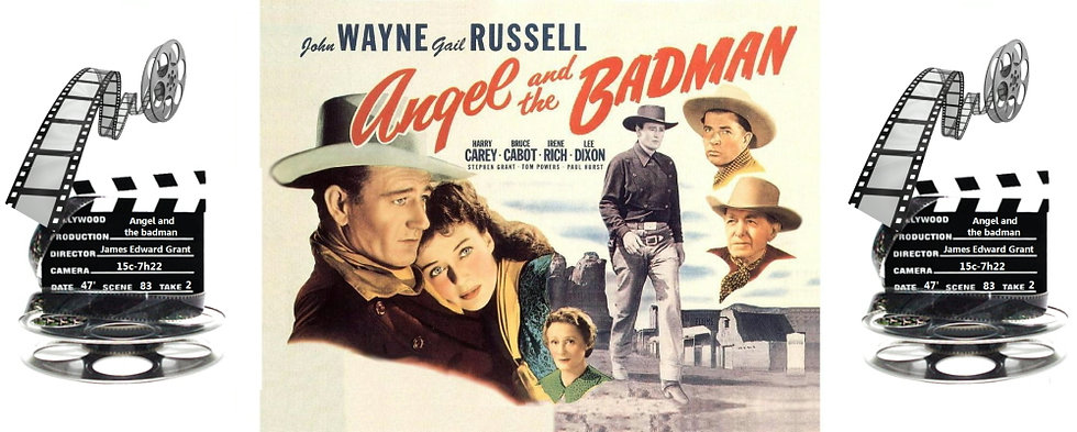 ANGEL AND THE BADMAN CERAMIC MUG