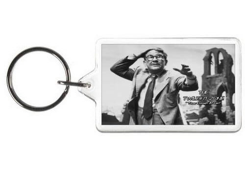 TWILIGHT ZONE (TIME ENOUGH AT LAST) KEY CHAIN