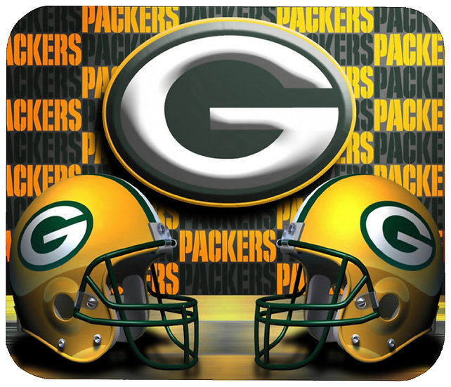 GREEN BAY PACKERS MOUSE PAD - (N)