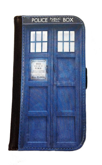 DOCTOR WHO TARDIS (clo) - LEATHER WALLET