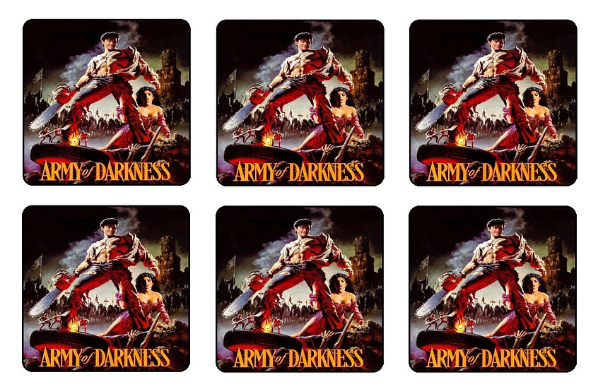 ARMY OF DARKNESS COASTERS