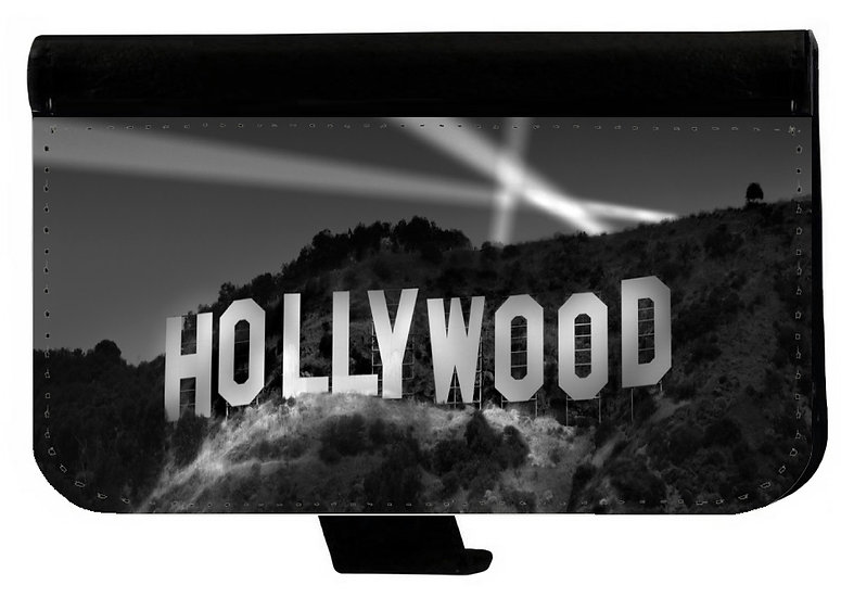 HOLLYWOOD HILLS SIGN IPHONE OR CELL PHONE CELL PHONE CASE WALLET