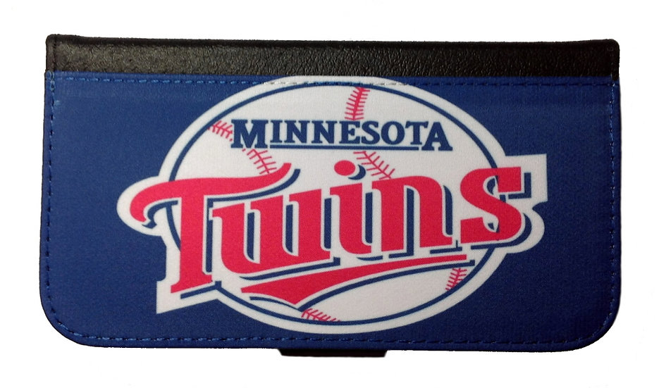 MINNESOTA TWINS IPHONE OR GALAXY CELL PHONE WALLET