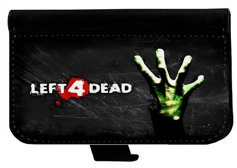 LEFT 4 DEAD (og) - LEATHER WALLET