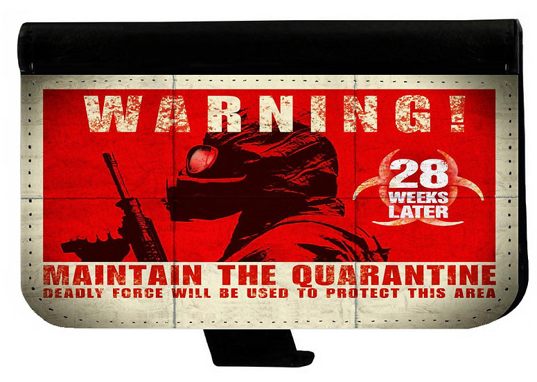 28 DAYS LATER - LEATHER WALLET