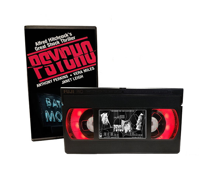 PSYCHO BATES MOTEL VHS MOVIE NIGHT LIGHT