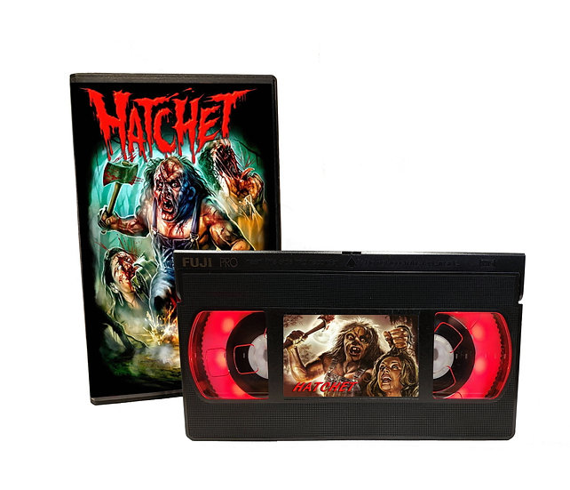 HATCHET VHS MOVIE NIGHT LIGHT