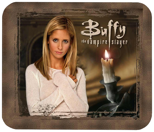 BUFFY THE VAMPIRE SLAYER  MOUSE PAD - (FR)