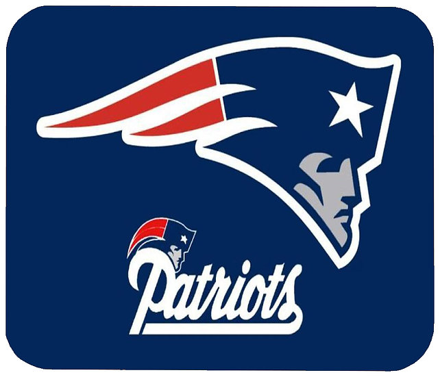 NEW ENGLAND PATRIOTS MOUSE PAD - (BL)