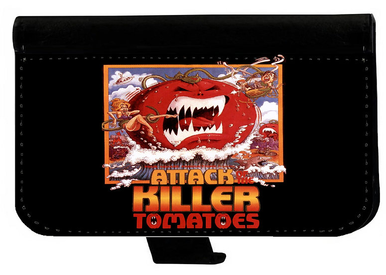 ATTACK OF THE KILLER TOMATOES - LEATHER WALLET
