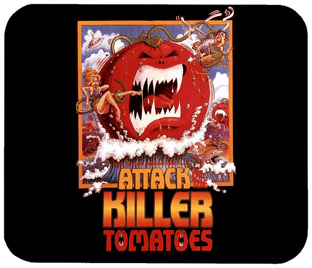 ATTACK OF THE KILLER TOMATOES MOUSE PAD