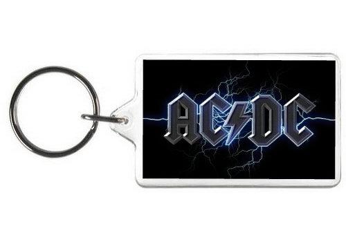 AC/DC KEY CHAIN - (BL)