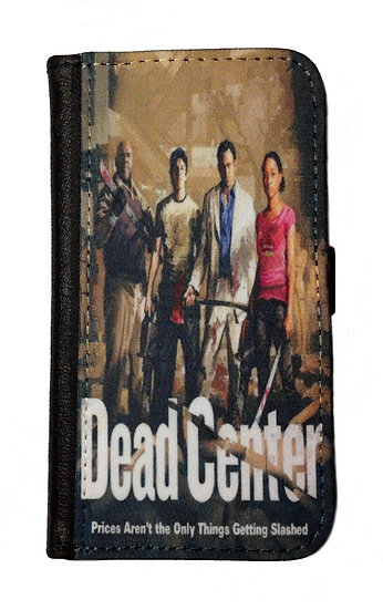 LEFT 4 DEAD DEAD CENTER IPHONE OR GALAXY  WALLET