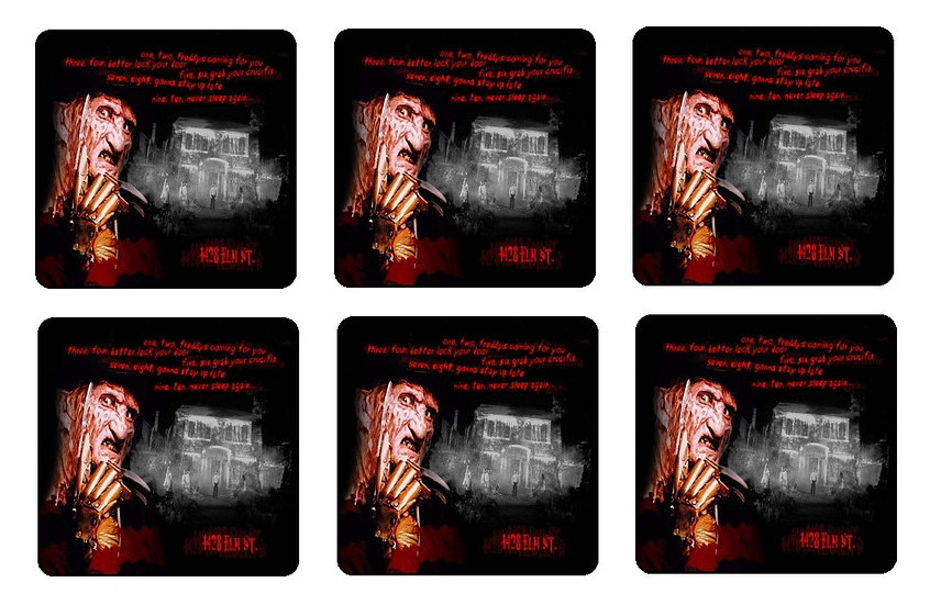 A NIGHTMARE ON ELM STREET COASTERS