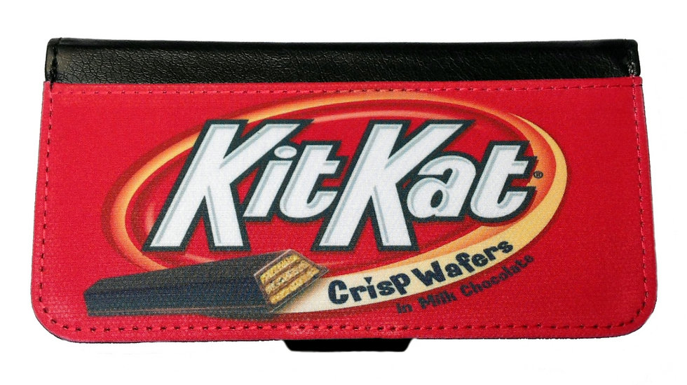 KIT KAT CANDY BAR IPHONE OR GALAXY CELL PHONE CASE WALLET