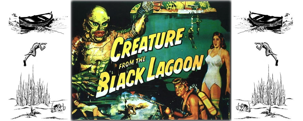 CREATURE FROM THE BLACK LAGOON CERAMIC MUG