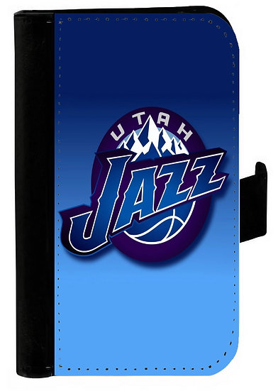 UTAH JAZZ IPHONE OR GALAXY CELL PHONE CASE WALLET