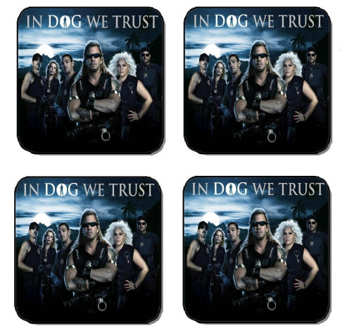 DOG THE BOUNTY HUNTER BEVERAGE COASTERS
