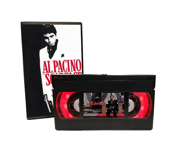 SCARFACE VHS MOVIE NIGHT LIGHT