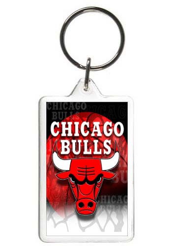 CHICAGO BULLS KEY CHAIN - (ORIG)