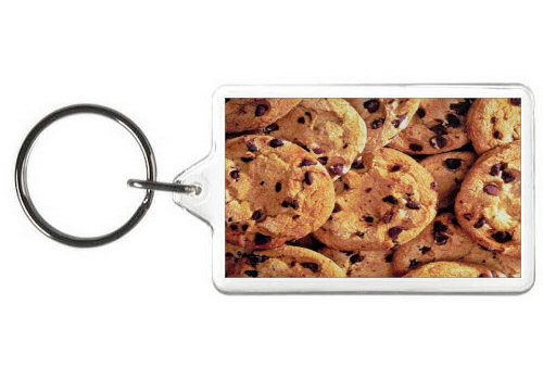 CHOCOLATE CHIP COOKIES KEY CHAIN