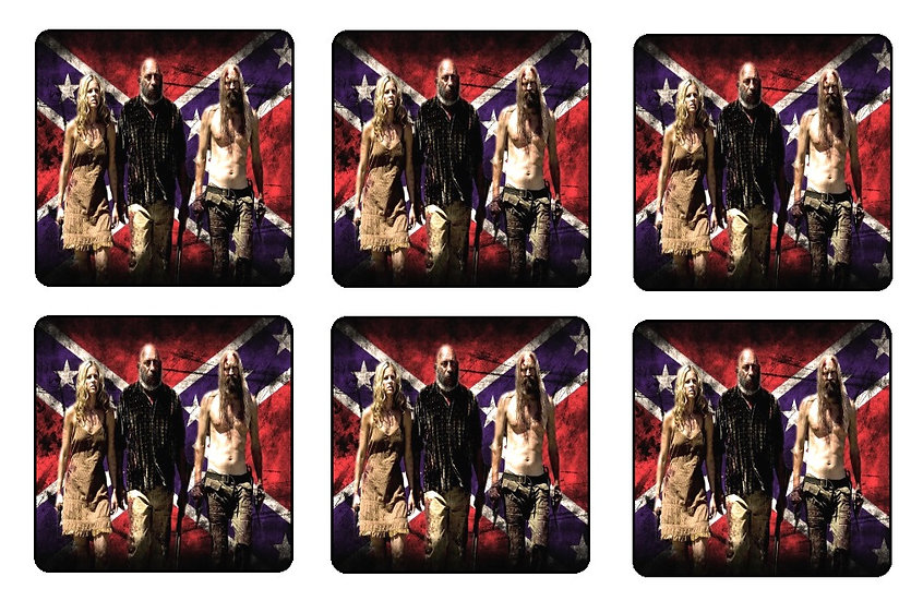 DEVILS REJECTS BEVERAGE COASTERS