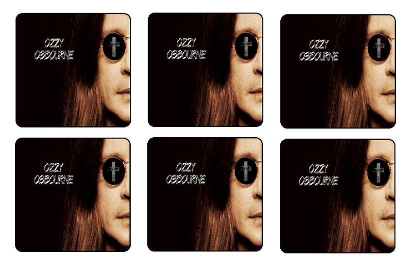 copy of OZZY OSBOURNE BEVERAGE COASTERS