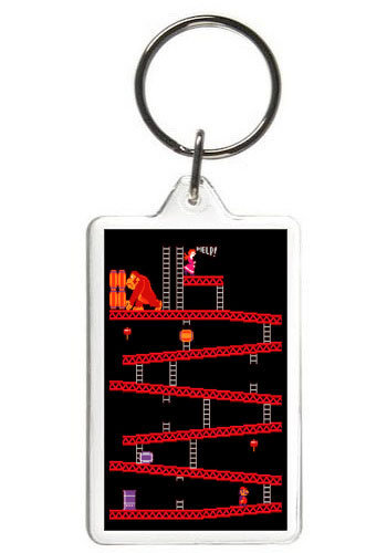 DONKEY KONG KEY CHAIN - (GM)
