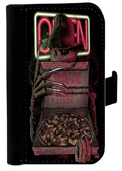 A NIGHTMARE ON ELM STREET IPHONE OR GALAXY CELL PHONE CASE WALLET