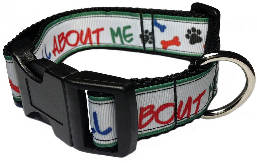 ALL ABOUT ME PAW & BONE DOG COLLAR