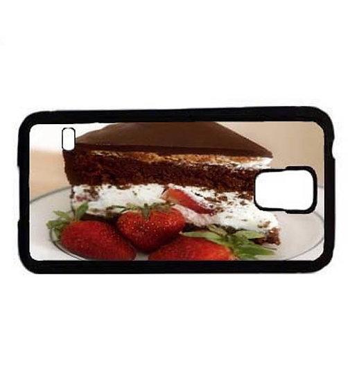 CHOCOLATE STRAWBERRY CAKE - RUBBER GRIP