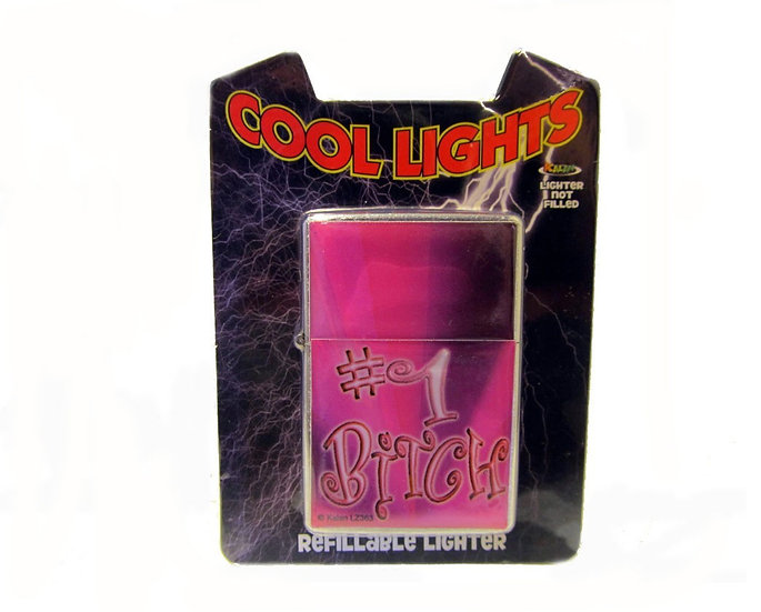 COOL LIGHTS (#1 BITCH) LIGHTER