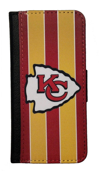 KANSAS CITY CHIEFS - LEATHER WALLET