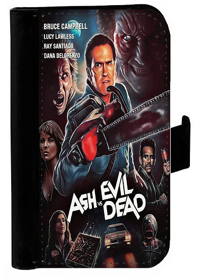 ASH VS EVIL DEAD (02) - LEATHER WALLET
