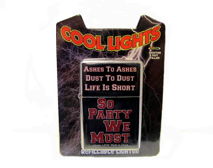 COOL LIGHTS (ASHES TO ASHES) LIGHTER