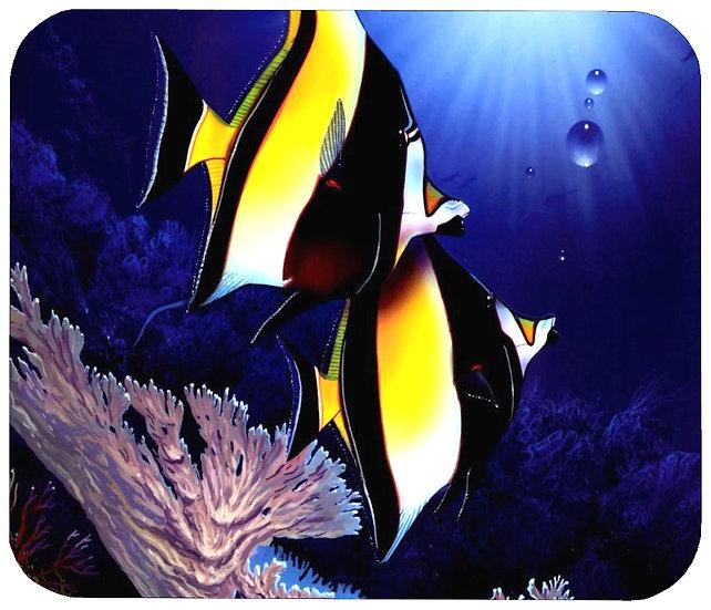 MOORISH IDOL FISH MOUSE PAD