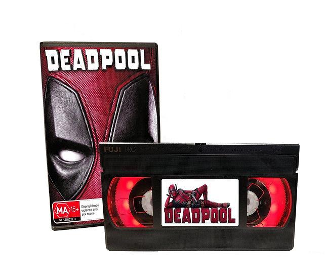 DEADPOOL VHS MOVIE NIGHT LIGHT