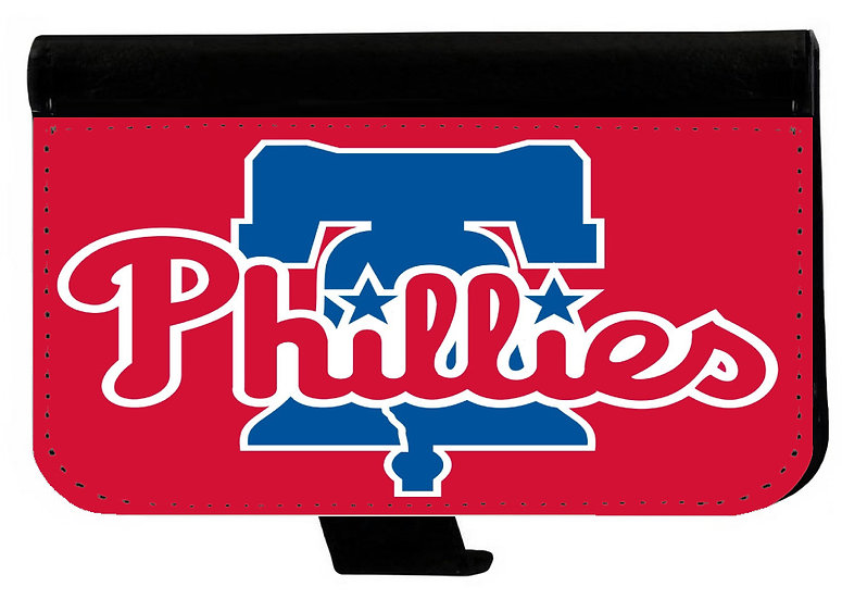 PHILADELPHIA PHILLIES IPHONE OR GALAXY CELL PHONE WALLET