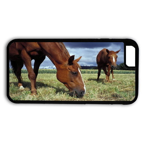 JUST GRAZING HORSES - RUBBER GRIP