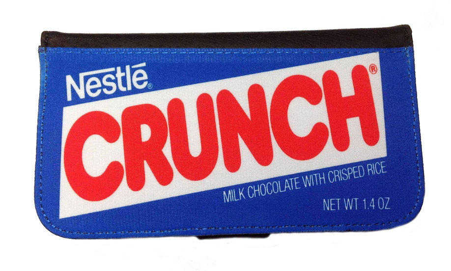 NESTLE CRUNCH CANDY BAR - LEATHER WALLET