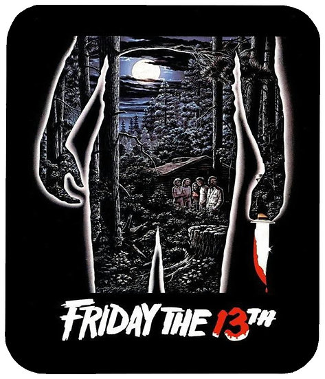 FRIDAY THE 13THMOUSE PAD - (T)