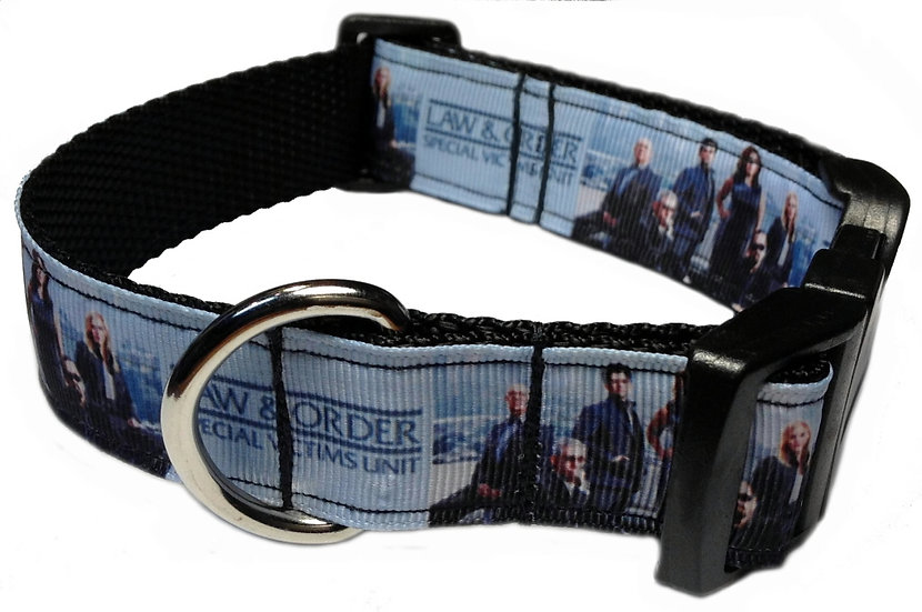 LAW AND ORDER DOG COLLAR